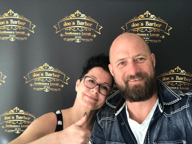Juliane und Christian Klier von Joe´s Barber auf mein-vollbart.de