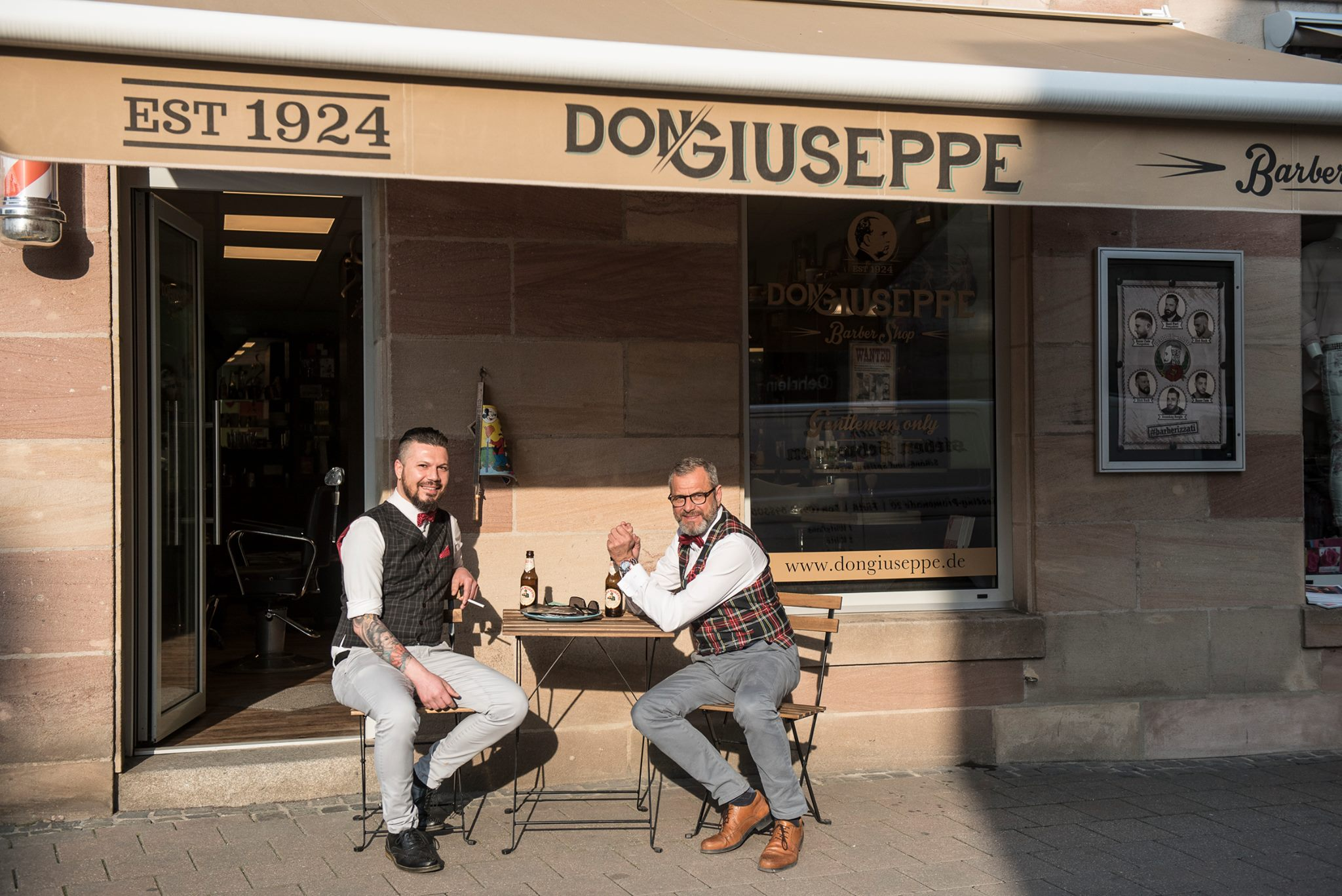 Don Giuseppe, der Barbershop in Fürth