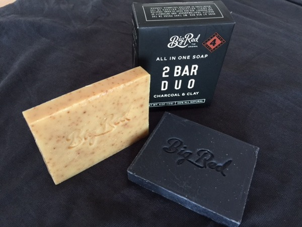 Bartseife Big Red Beard Combs 2 Bar Duo und Urban Beard Shampoo Bar - Bartseife von beardandshave.de im Produkttest auf mein-vollbart.de