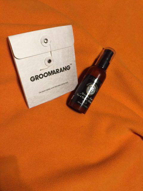 Der Groomerang und die Bartcreme von Blissany im Produkttestauf mein-vollbart.de