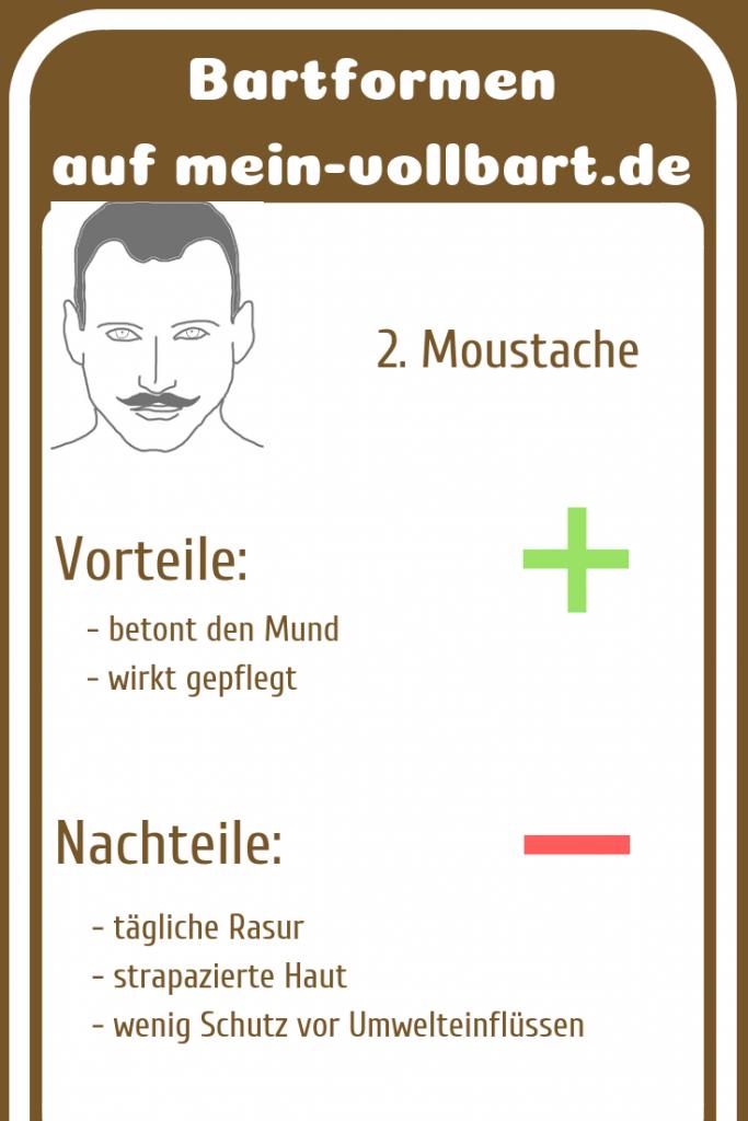 Bartstyle Moustache auf mein-vollbart.de